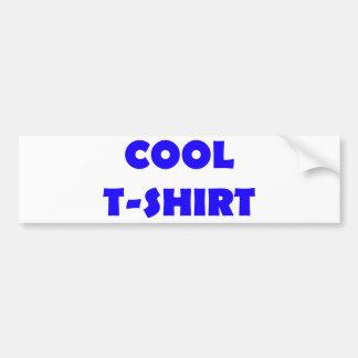 azul legal do t-shirt adesivo para carro