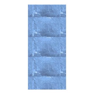Azul macio da FAÍSCA de KOOLshades HealingSTONE 10.16 X 22.86cm Panfleto