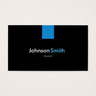 Azul moderno do Aqua do dentista Cartão De Visita