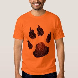 Azul na laranja camiseta