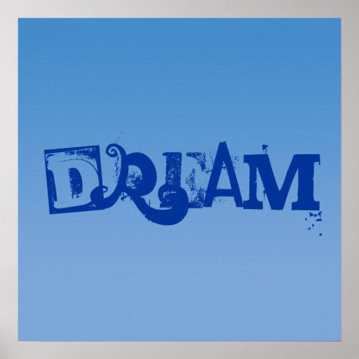 """Azul no poster decorativo """"ideal"""" azul da pia bati"""