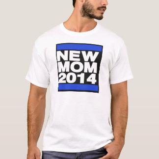 Azul novo da mamã 2014 t-shirt