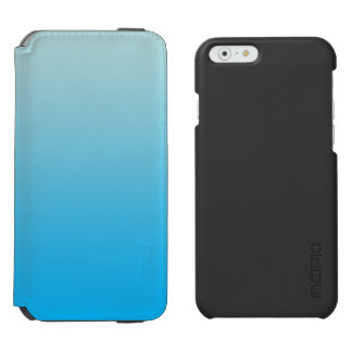 Azul Ombre do Aqua Capa Carteira Incipio Watson™ Para iPhone 6