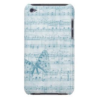 Azul romance musical da borboleta capa para iPod touch