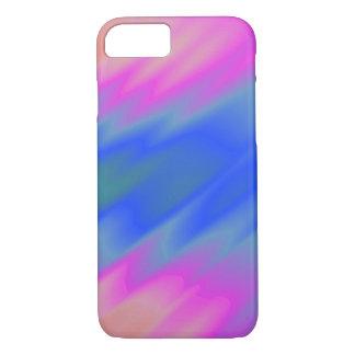 Azul & rosa capa iPhone 8/7