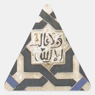 Azulejo #10.jpg da parede de Alhambra Adesivos Em Forma De Triângulo