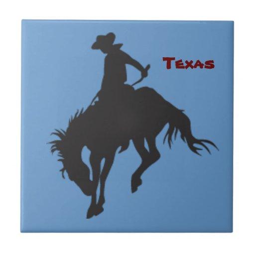 Azulejo Bucking do cavalo de Texas