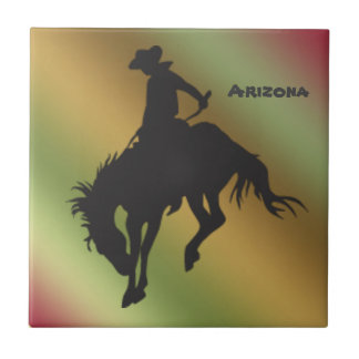 Azulejo Bucking do cavalo do inclinação da arizona