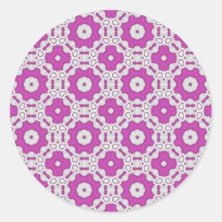 Azulejo cor-de-rosa do teste padrão adesivo