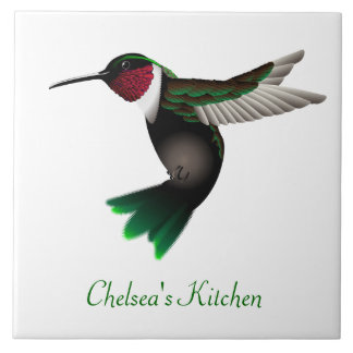 Azulejo da cozinha do colibri