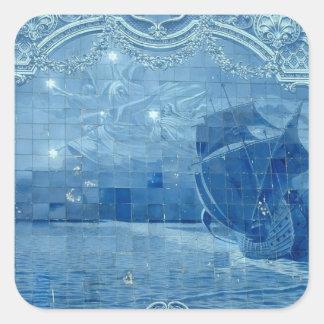 Azulejo de Azulejo Adesivo Quadrado