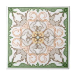 Azulejo De Cerâmica 4 geométricos clássicos Design-Trivet de canto 4