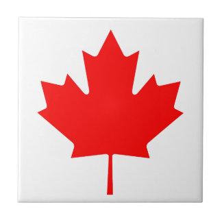 Azulejo De Cerâmica Bandeira nacional de Canadá - Drapeau du Canadá