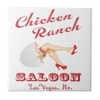Azulejo De Cerâmica Bar Las Vegas do rancho da galinha