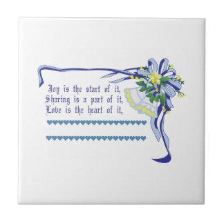 Azulejo De Cerâmica Bênção do casamento