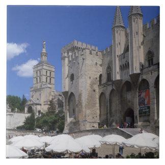 Azulejo De Cerâmica Café, Le Palais DES Papes, Avignon, Vaucluse,