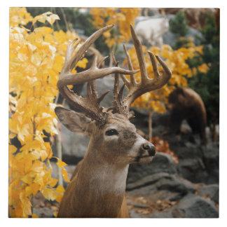 Azulejo De Cerâmica Cervos do troféu