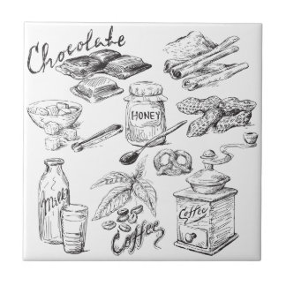 Azulejo De Cerâmica Chocolate