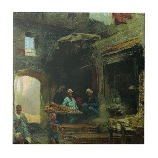 Azulejo De Cerâmica Corte do Cairo por Konstantin Makovsky