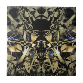 Azulejo De Cerâmica Dragão abstrato