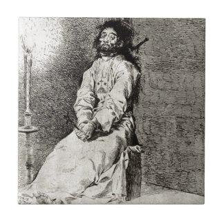 Azulejo De Cerâmica Endurecido por Francisco Goya