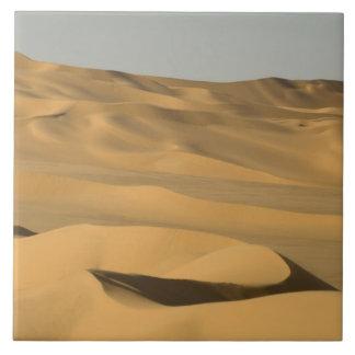 Azulejo De Cerâmica ERG Awbari, deserto de Sahara, Fezzan, Líbia