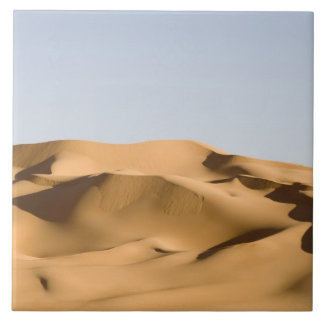 Azulejo De Cerâmica ERG Awbari, deserto de Sahara, Fezzan, Líbia. 2