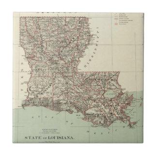 Azulejo De Cerâmica Estado de Louisiana
