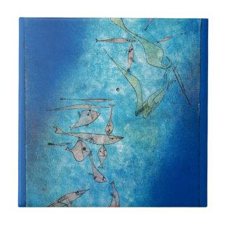 Azulejo De Cerâmica Fish Image - Paul Klee