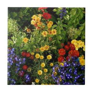 Azulejo De Cerâmica Flores coloridas