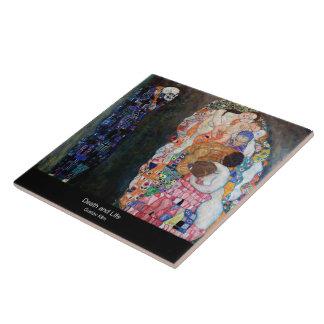 """Azulejo De Cerâmica Klimt , """" Death and Life """""""