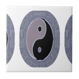 Azulejo De Cerâmica Lei da atração Yin Yang