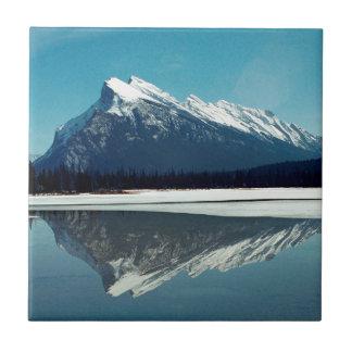 Azulejo De Cerâmica Montanha de Rundle, Banff