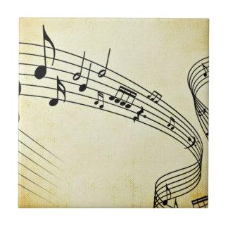 Azulejo De Cerâmica Música