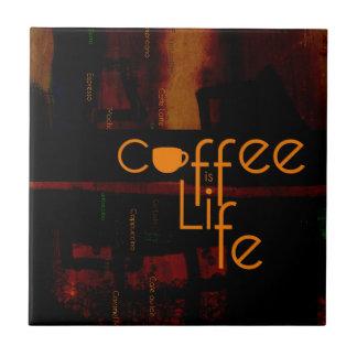 Azulejo De Cerâmica O café é vida