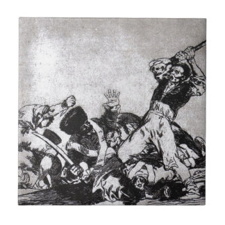 Azulejo De Cerâmica O mesmos por Francisco Goya