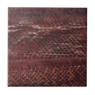 Azulejo De Cerâmica Pele de cobra do desenhista de Vanwinkle