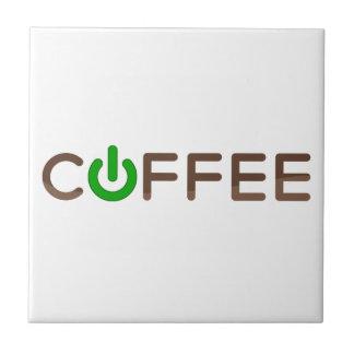 Azulejo De Cerâmica Poder do café (verde)