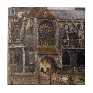 Azulejo De Cerâmica Portal da igreja da abadia de Saint Laurent