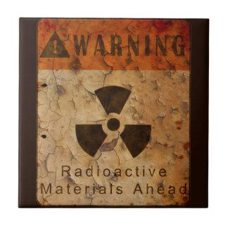 Azulejo De Cerâmica Radioativo