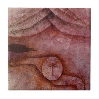 Azulejo De Cerâmica Refúgio por Paul Klee