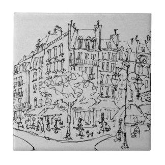 Azulejo De Cerâmica Rua de Conde | Jardin du Luxembourg, Paris