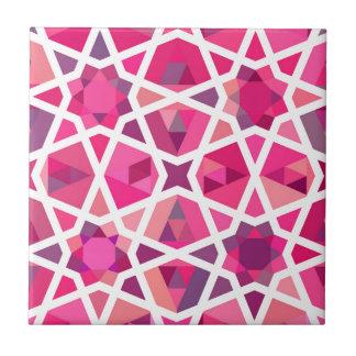 Azulejo De Cerâmica Teste padrão islâmico contemporâneo