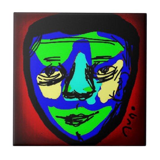 Azulejo De Cerâmica The Mask