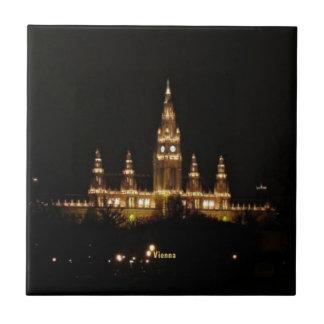 Azulejo De Cerâmica Viena na noite