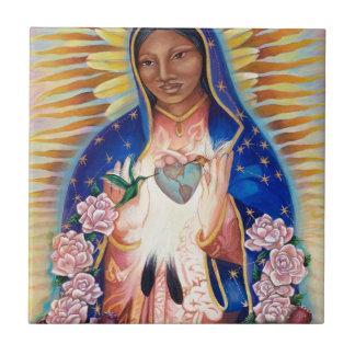 Azulejo De Cerâmica Virgem Maria - nossa senhora Guadalupe
