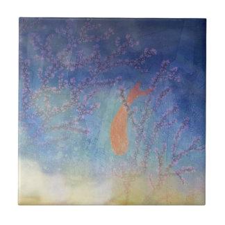 Azulejo De Cerâmica Watercolour de Koi