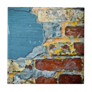 Azulejo do Grunge do tijolo