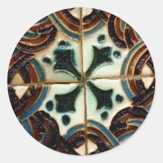 Azulejo do Moorish Adesivo
