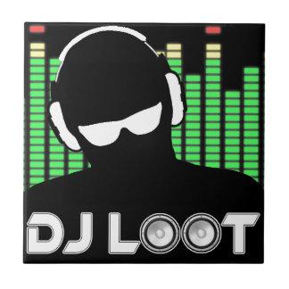 Azulejo do pilhagem do DJ